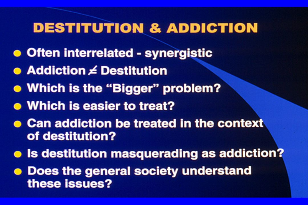 Conclusion Addiction is a complex chronic medical disorder