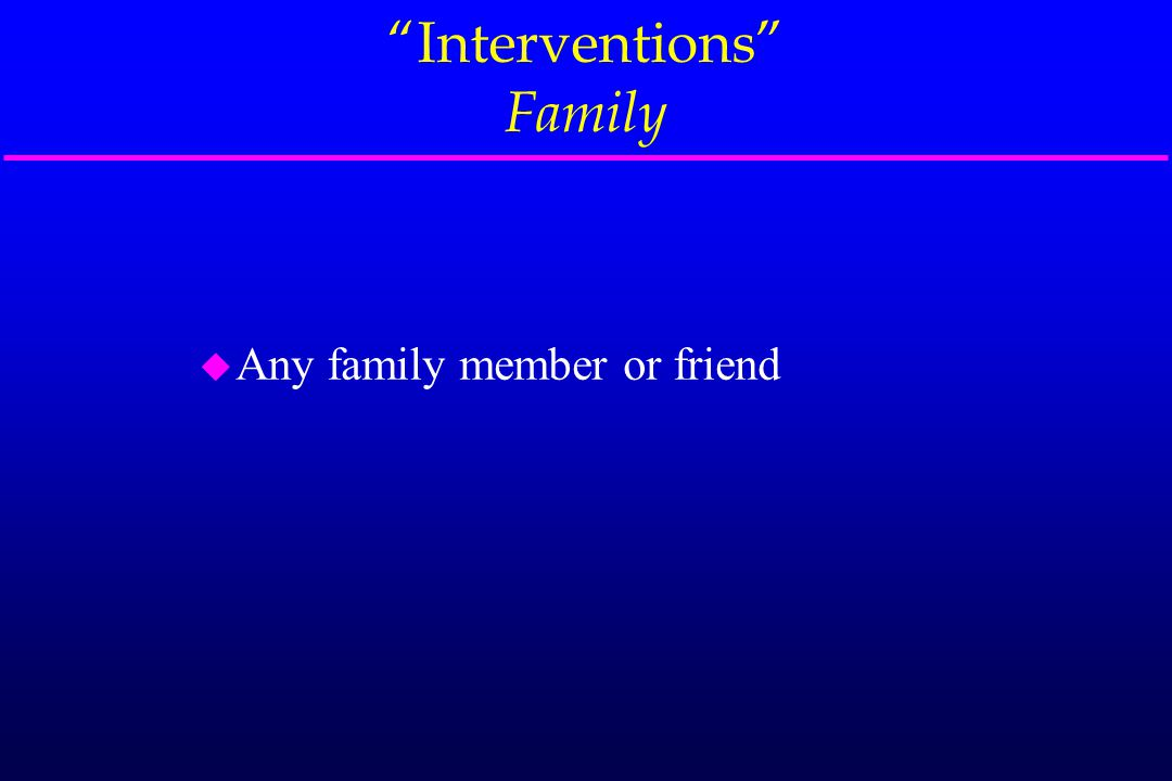Intervention Consequential