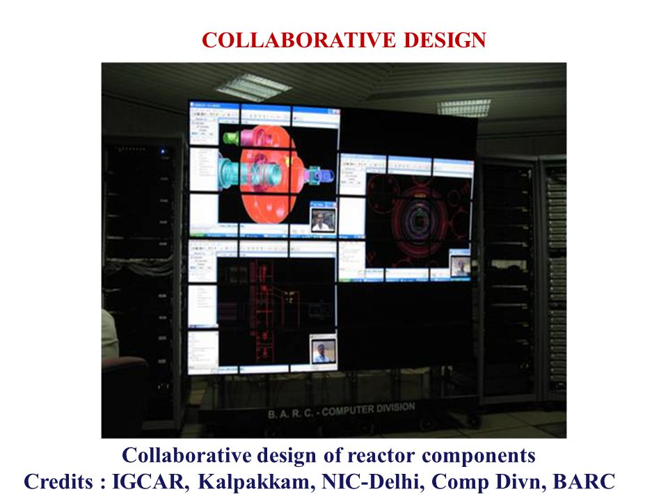 Collaborative design of reactor components