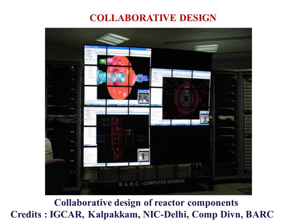 Collaborative design of reactor components
