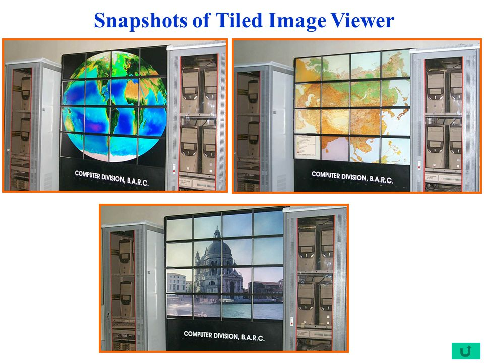 Snapshots of Tiled Image Viewer