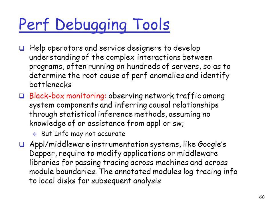Perf Debugging Tools