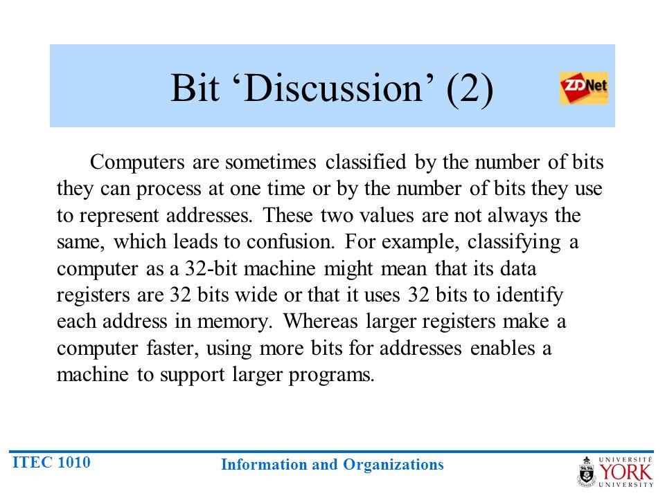 Bit 'Discussion' (2)