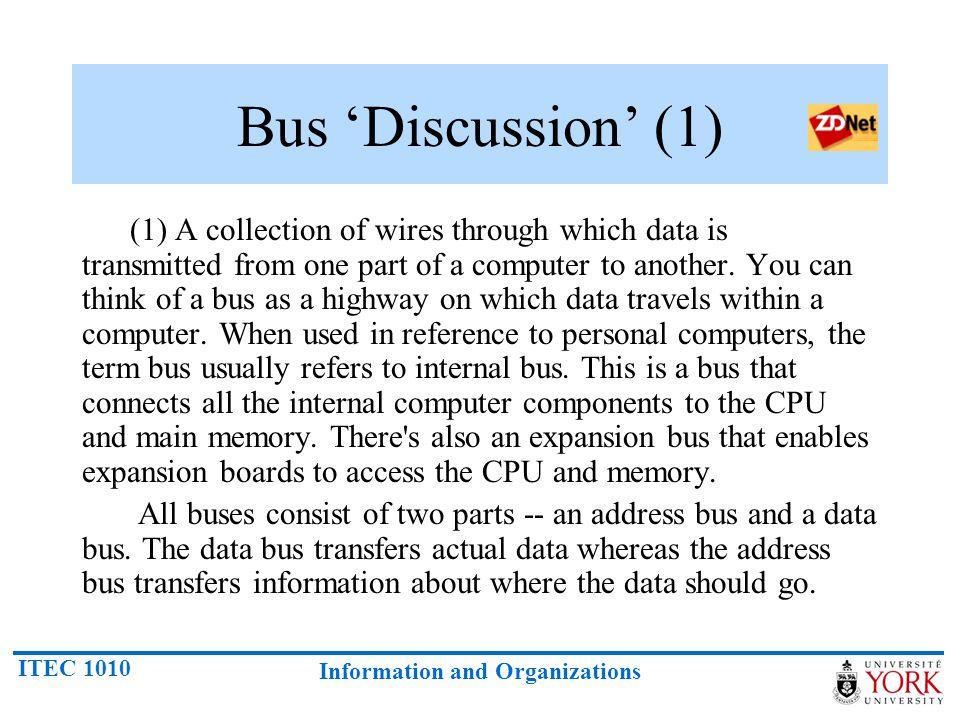 Bus 'Discussion' (1)