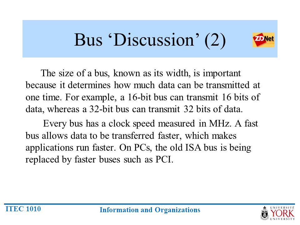 Bus 'Discussion' (2)