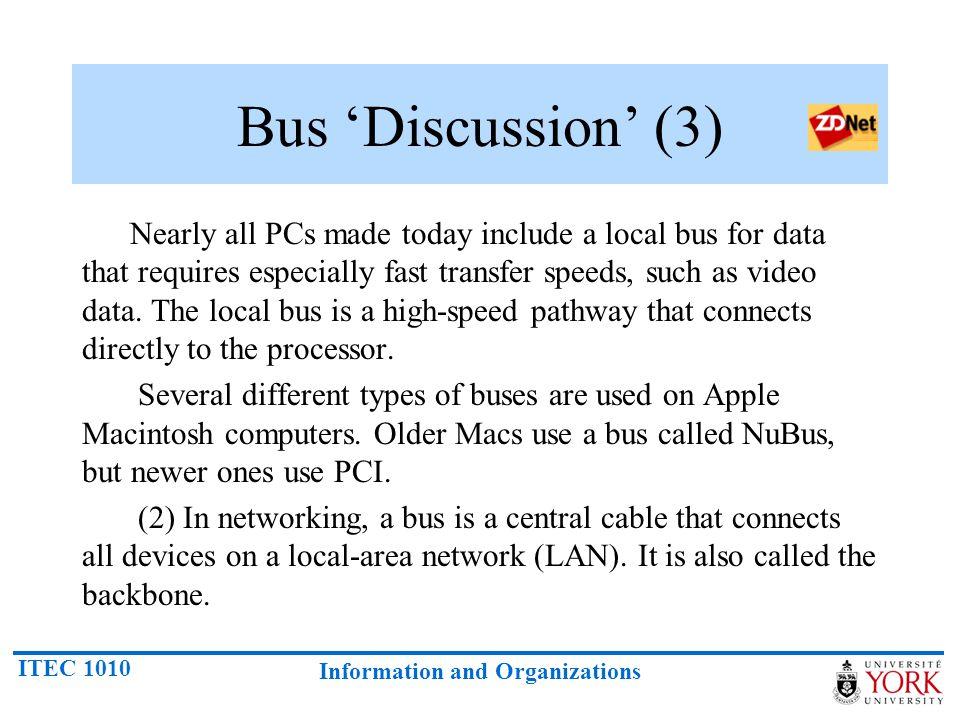 Bus 'Discussion' (3)
