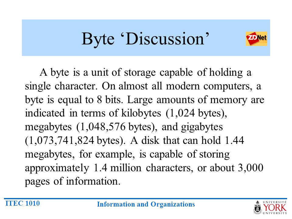 Byte 'Discussion'