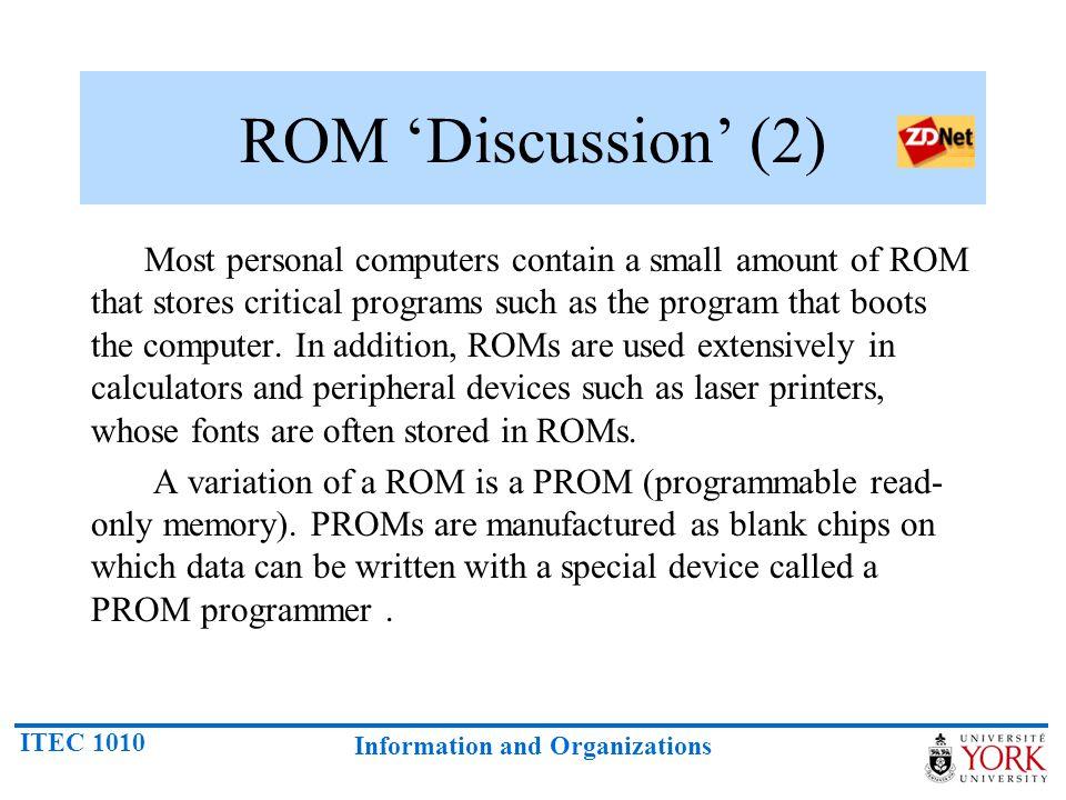 ROM 'Discussion' (2)