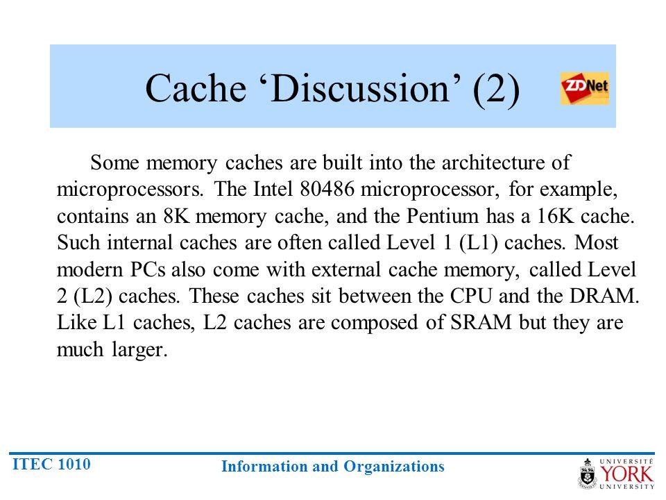 Cache 'Discussion' (2)