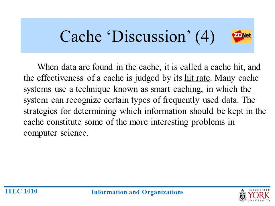 Cache 'Discussion' (4)