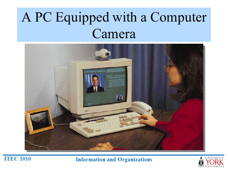 A PC Equipped with a Computer Camera