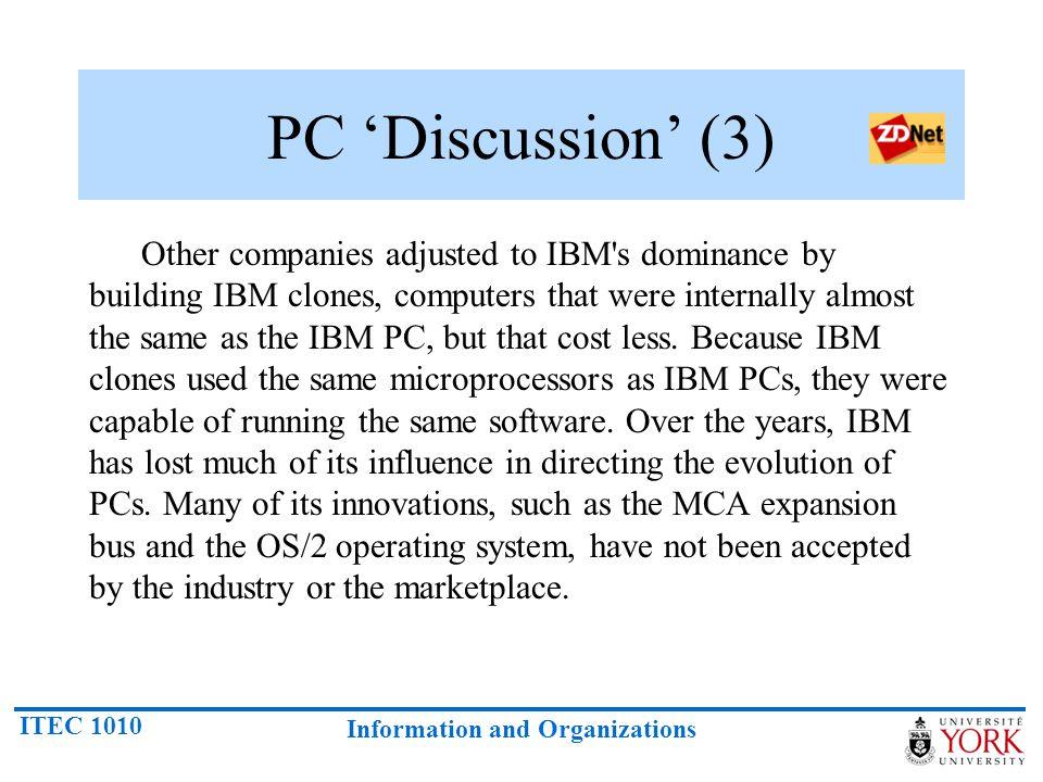 PC 'Discussion' (3)