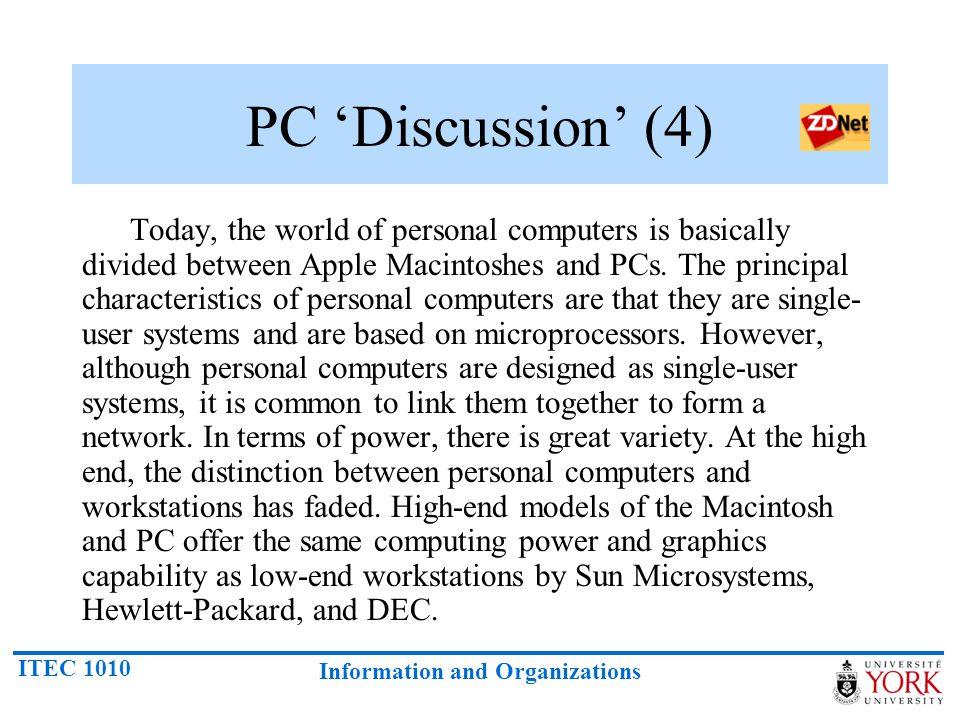 PC 'Discussion' (4)