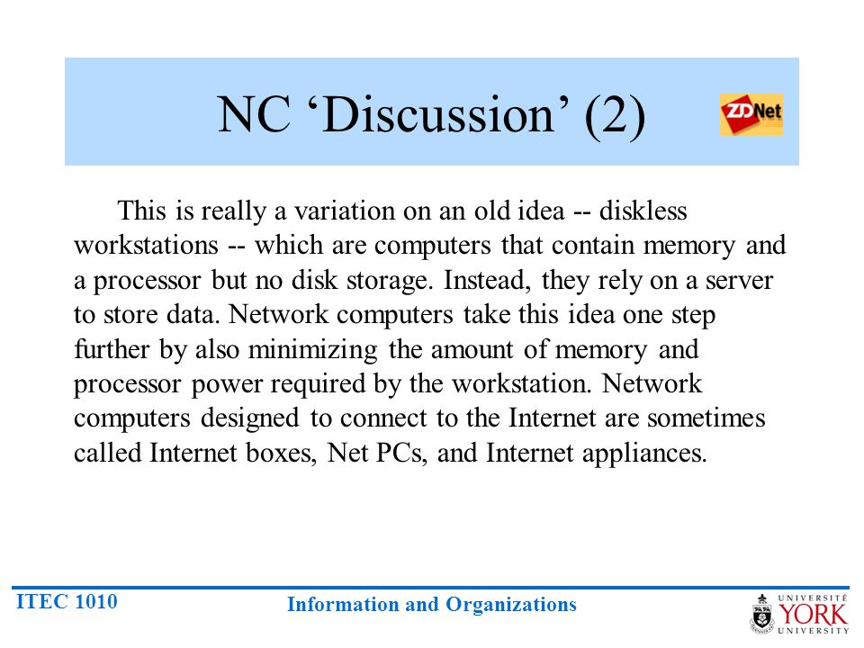 NC 'Discussion' (2)