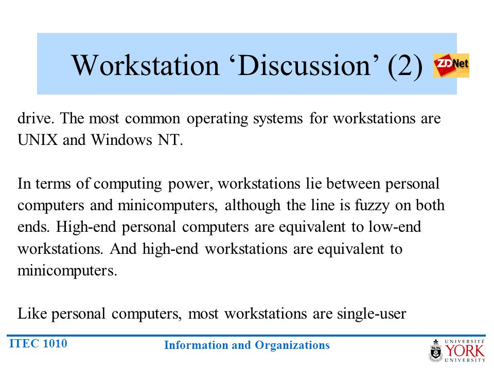 Workstation 'Discussion' (2)