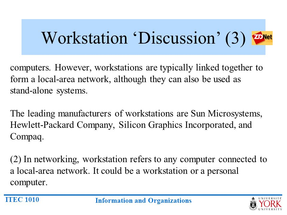 Workstation 'Discussion' (3)
