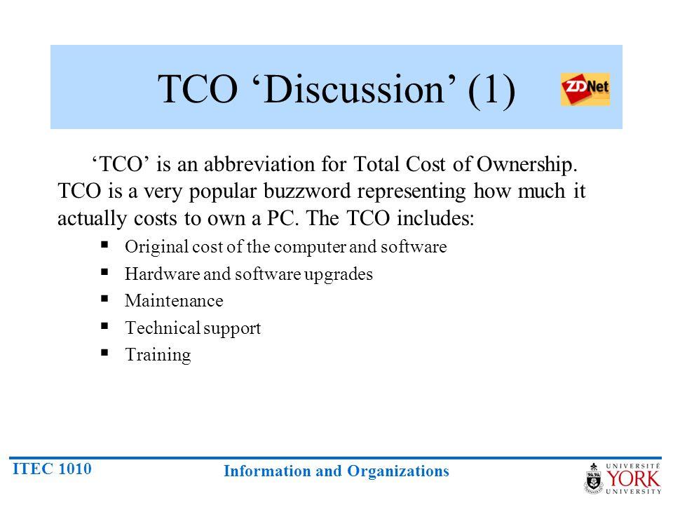 TCO 'Discussion' (1)