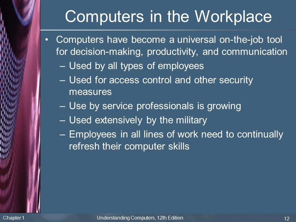 Importance of Computers in a Workplace