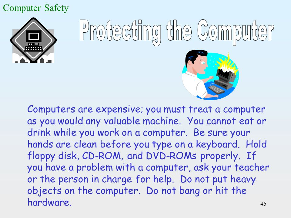 Protecting the Computer
