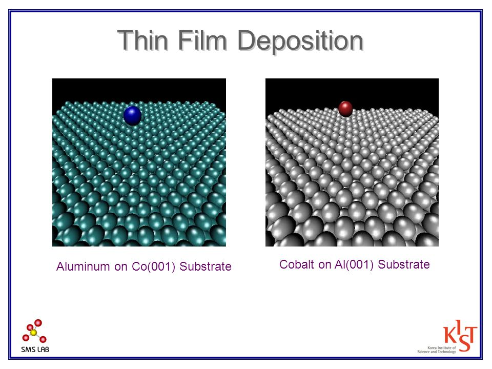 Thin Film Deposition Cobalt on Al(001) Substrate