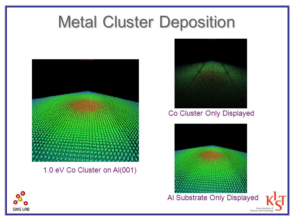Metal Cluster Deposition