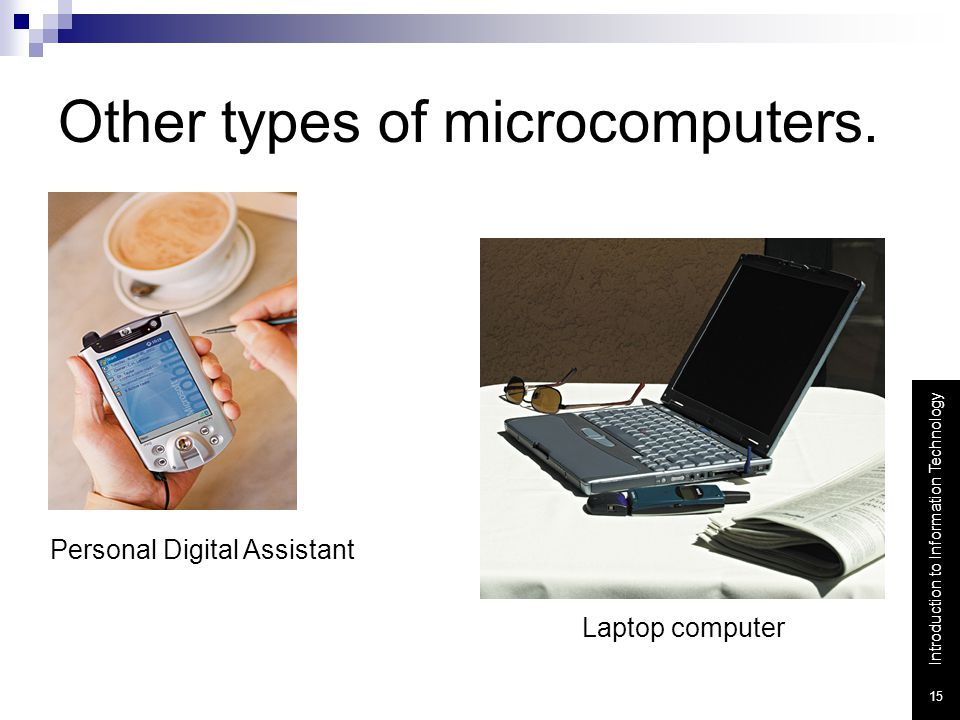 Other types of microcomputers.