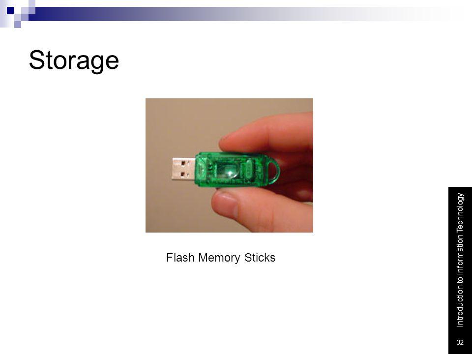 Storage Flash Memory Sticks