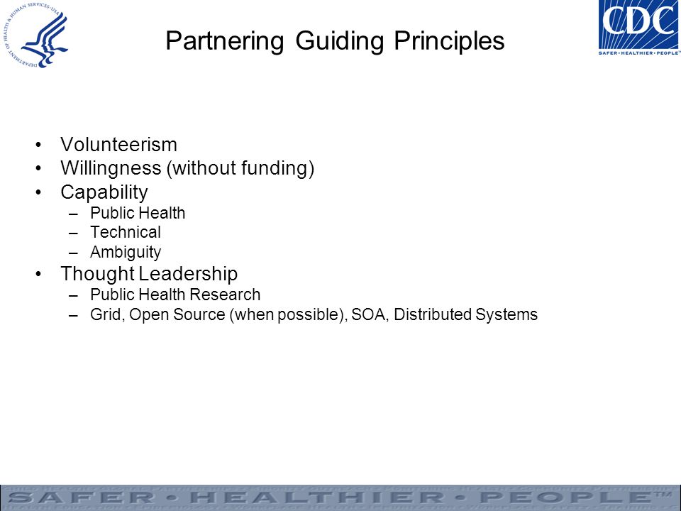 Partnering Guiding Principles