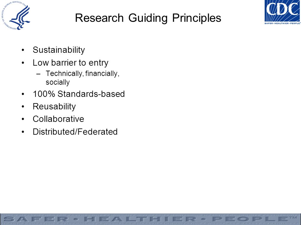 Research Guiding Principles