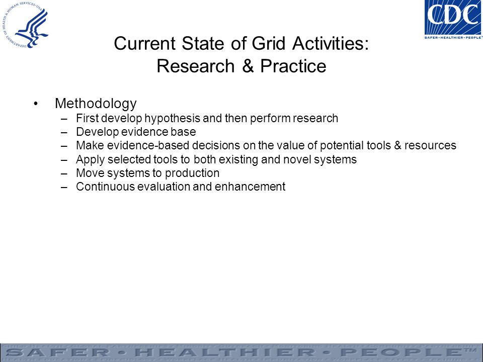 Current State of Grid Activities: Research & Practice