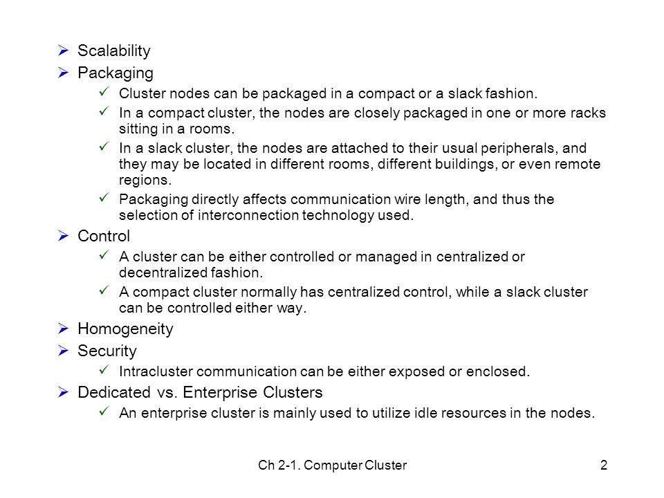 Dedicated vs. Enterprise Clusters