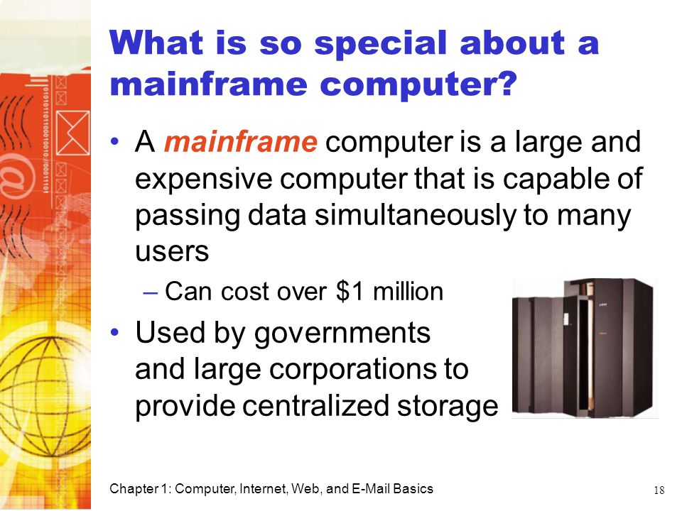 What is so special about a mainframe computer