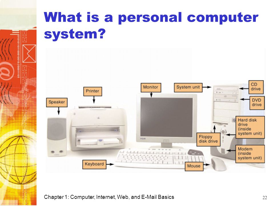 What is a personal computer system