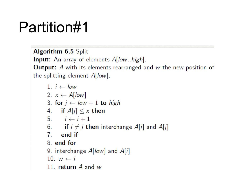 Partition#1