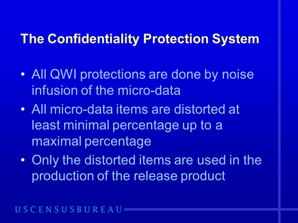 The Confidentiality Protection System