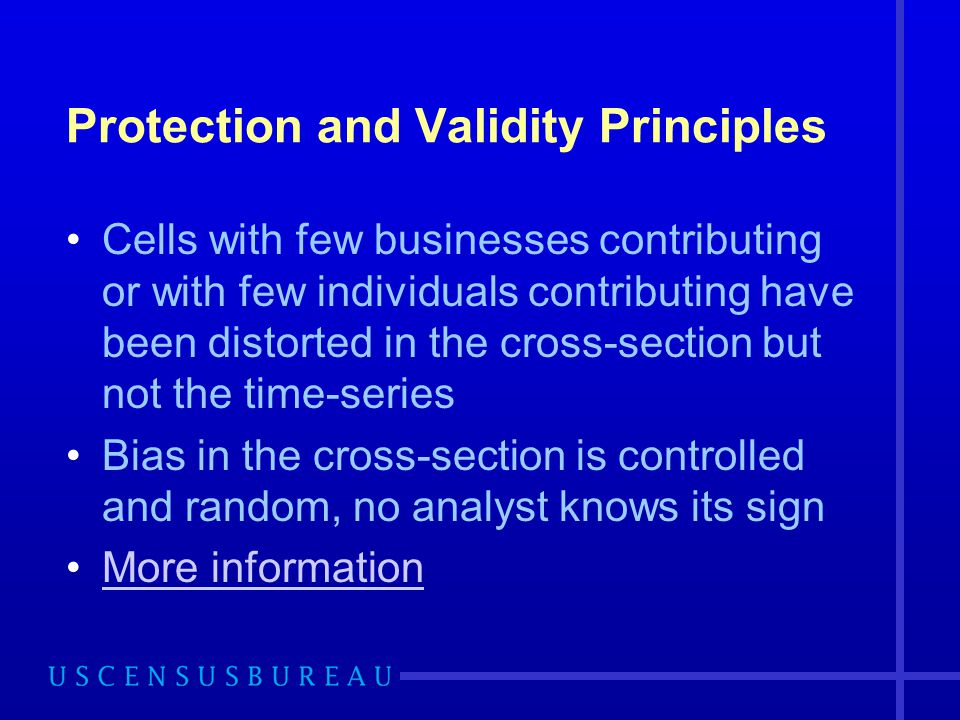 Protection and Validity Principles