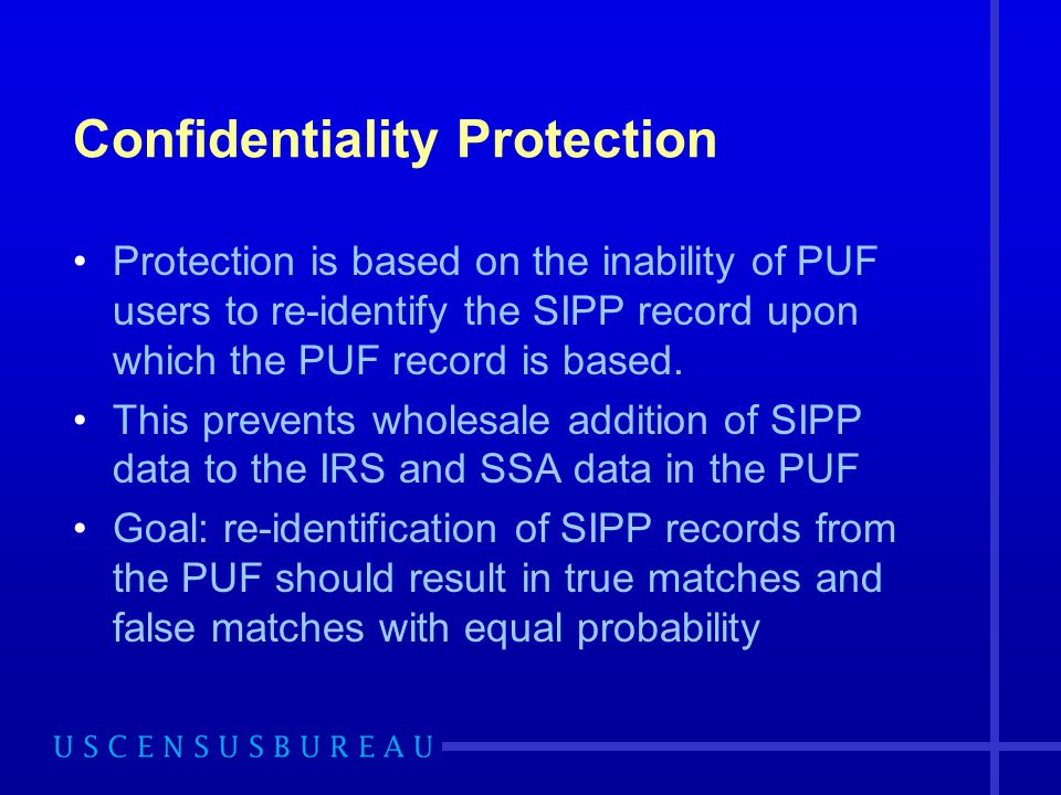 Confidentiality Protection
