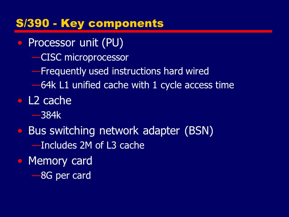 Bus switching network adapter (BSN) Memory card