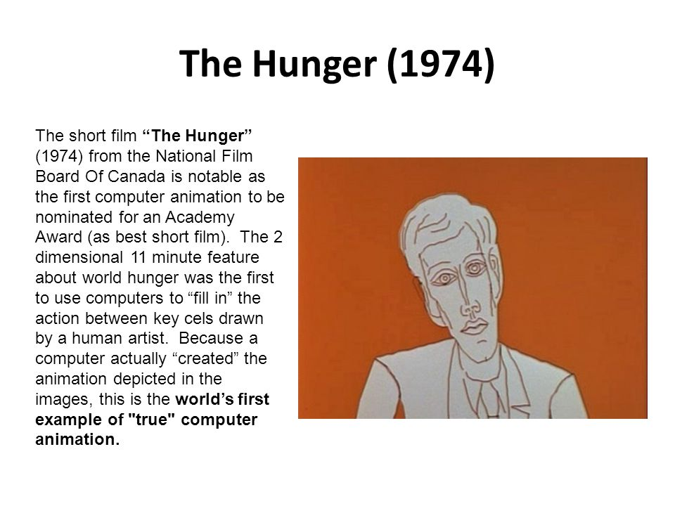 The Hunger (1974)