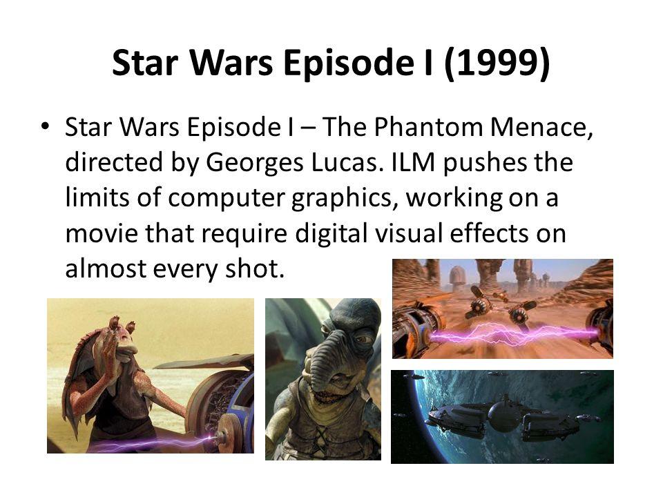 Star Wars Episode I (1999)