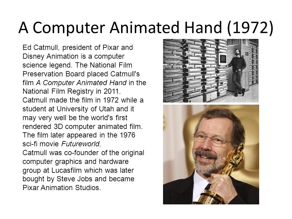 A Computer Animated Hand (1972)