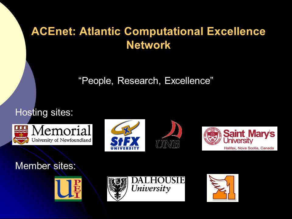 ACEnet: Atlantic Computational Excellence Network