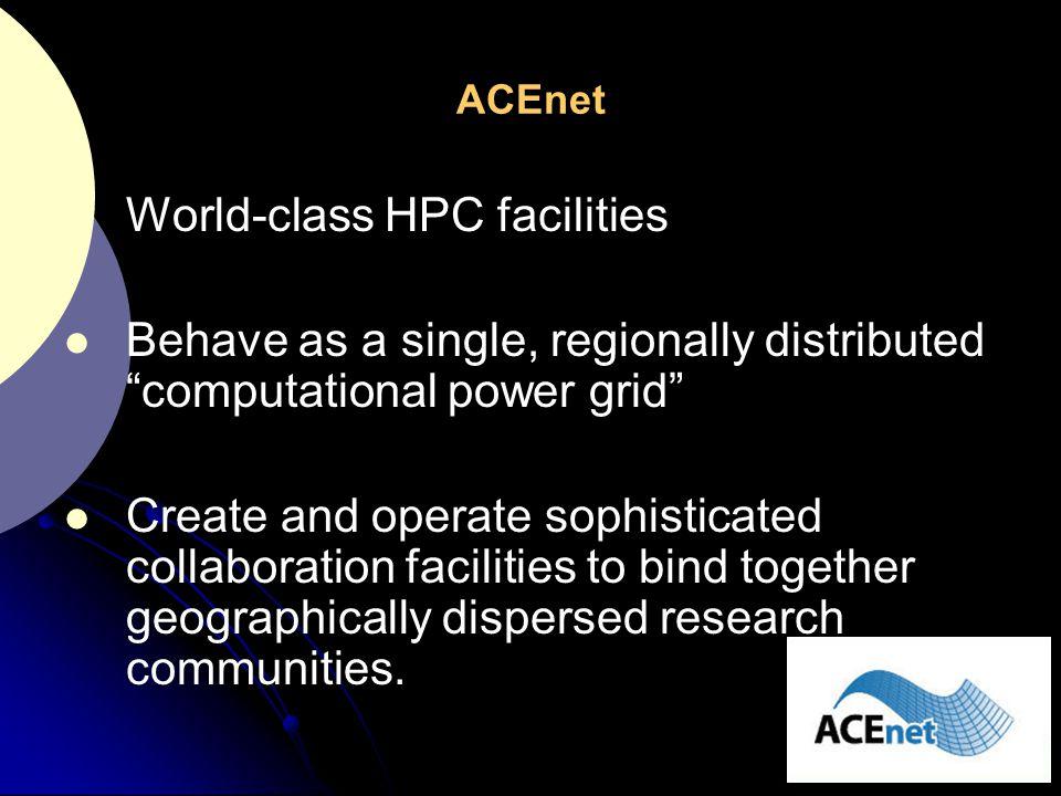 World-class HPC facilities
