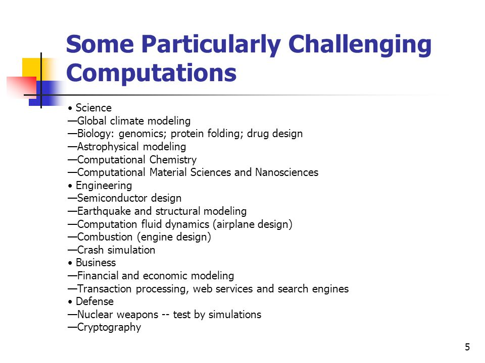 Some Particularly Challenging Computations