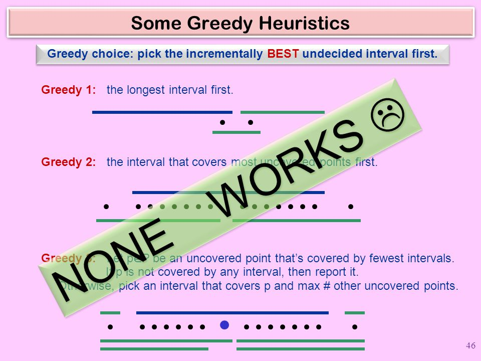 Some Greedy Heuristics