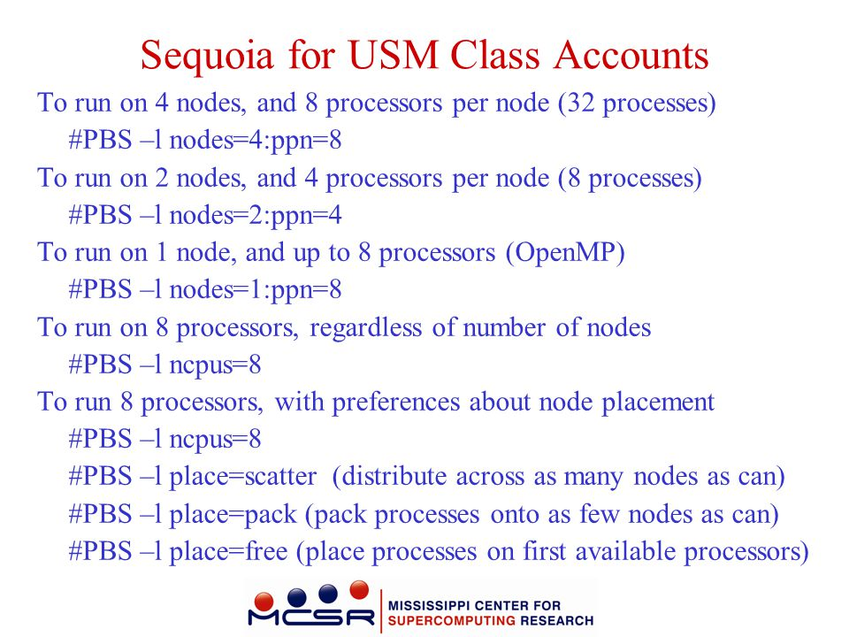 Sequoia for USM Class Accounts