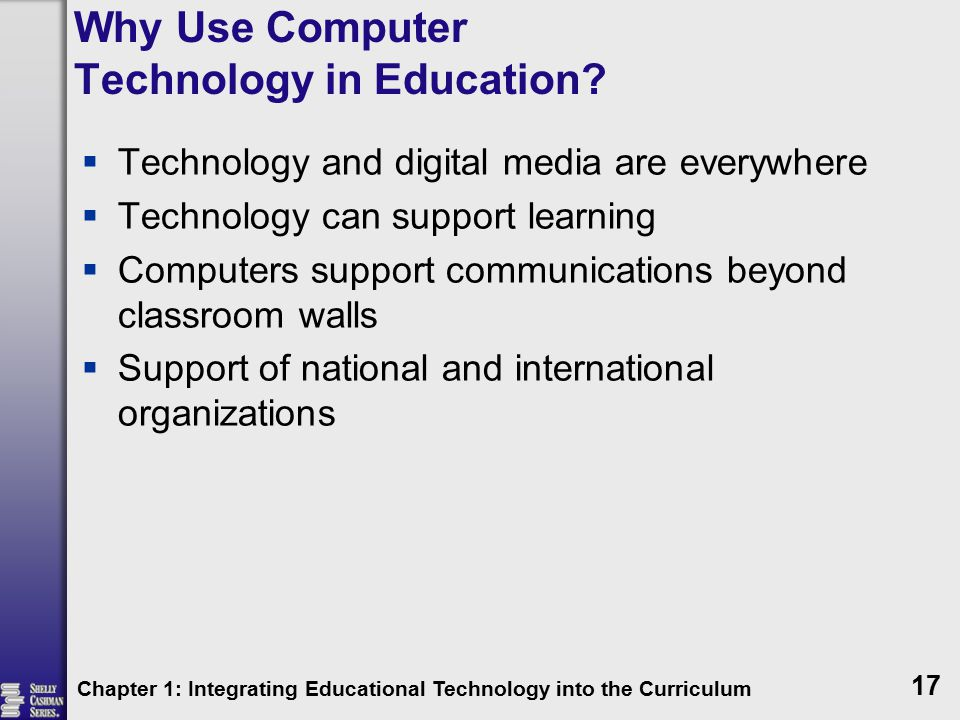 Why Use Computer Technology in Education