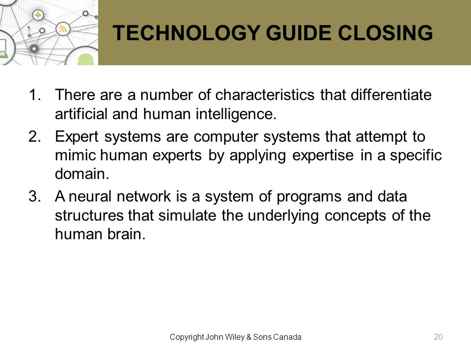 TECHNOLOGY GUIDE CLOSING