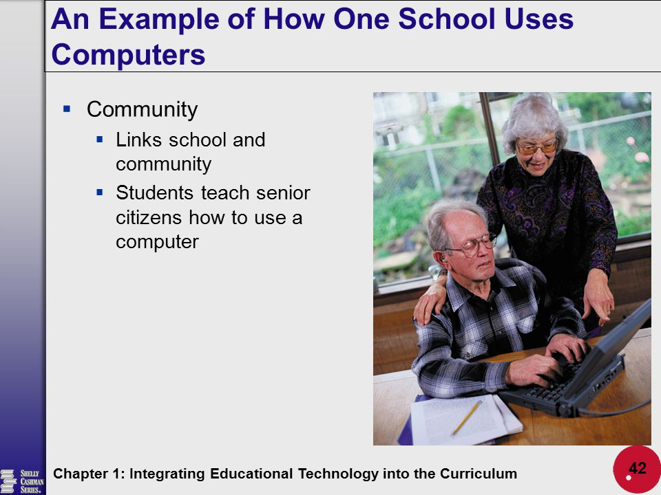 An Example of How One School Uses Computers
