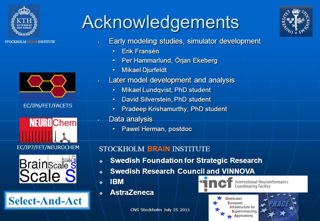 Acknowledgements Select-And-Act